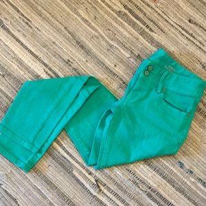 Green Worth Skinny Mini Jeans